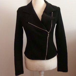 Ladies Express Fitted Black Jacket